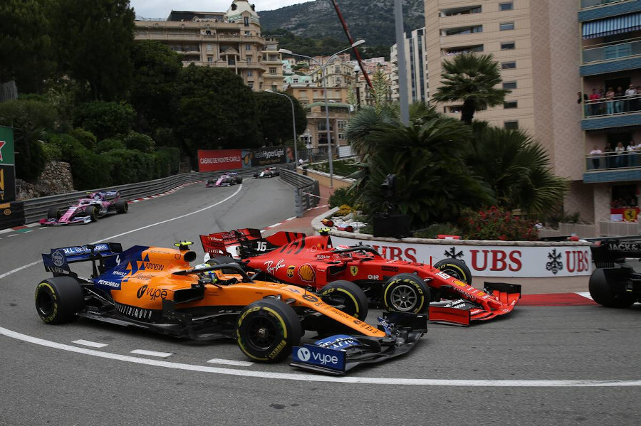 Monaco F1 Race Viewing